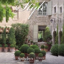 Style, Magazine de Sotheby's International Realty France-Monaco