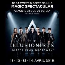 The Illusionists - du 11 au 14 Avril 2018