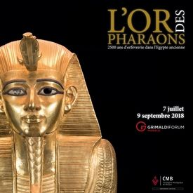 L'Or des Pharaons, Grimaldi Forum