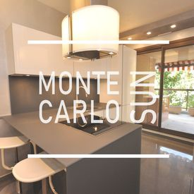 The Monte Carlo Sun, Superb renovated apartment in a luxury residence.