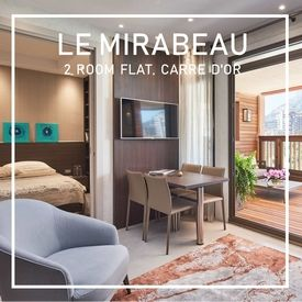 Le Mirabeau - Luxury 2 room apartment in the Carré d'Or