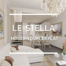 The Stella, New Built modern construction, La Condamine.