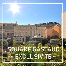 Square Gastaud - Bourgeois apartment to renovate in the heart of a little garden