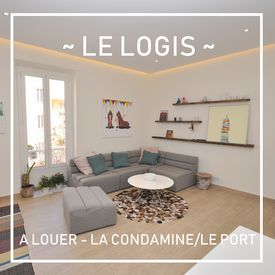 Le Logis, Charming 3 room flat, Typical building of La Condamine - Rental