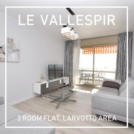 The Vallespir, renovated 3 room apartment close to the beach