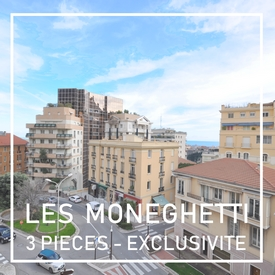 Les Moneghetti, Appartement