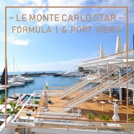 Le Monte Carlo Star - Wide 2 room apartment overhanging the port